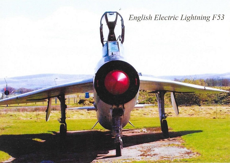 The English Electric Lightning F53,  ZF583