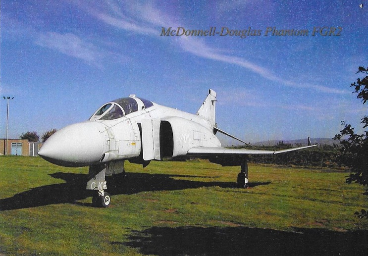 The McDonnell-Douglas Phantom FGR2, XV406