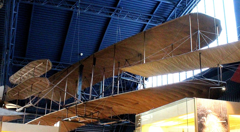 Replica of the Wright 'Flyer'