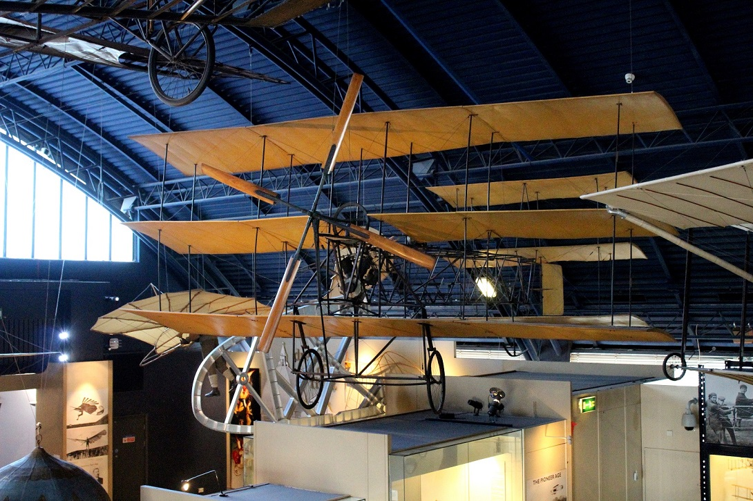 Another view of the Roe triplane