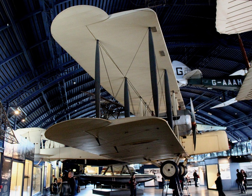 The Vickers Vimy IV replica
