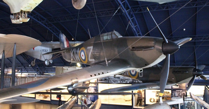 The Hawker Hurricane 1, L1592
