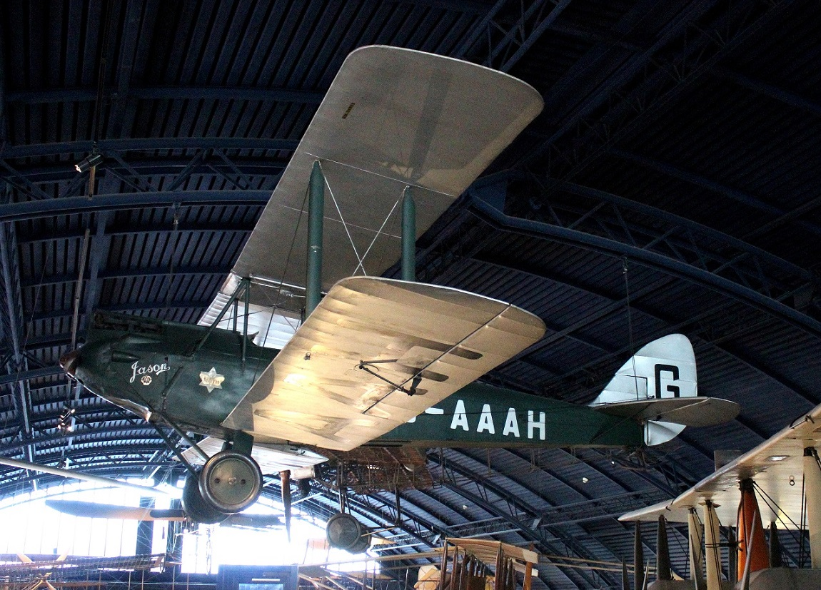 Another view of Amy Johnson&#39;s DH60G Moth &#39;<em>Jason</em>&#39; G-AAAH