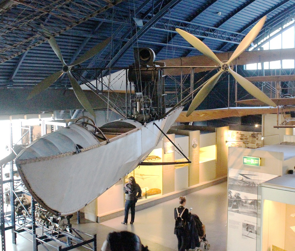 The gondola for the airship HMA No.17 'Beta 11'