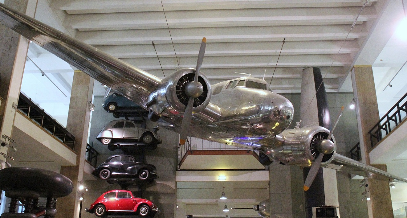 Another view of the Lockheed 10A Electra