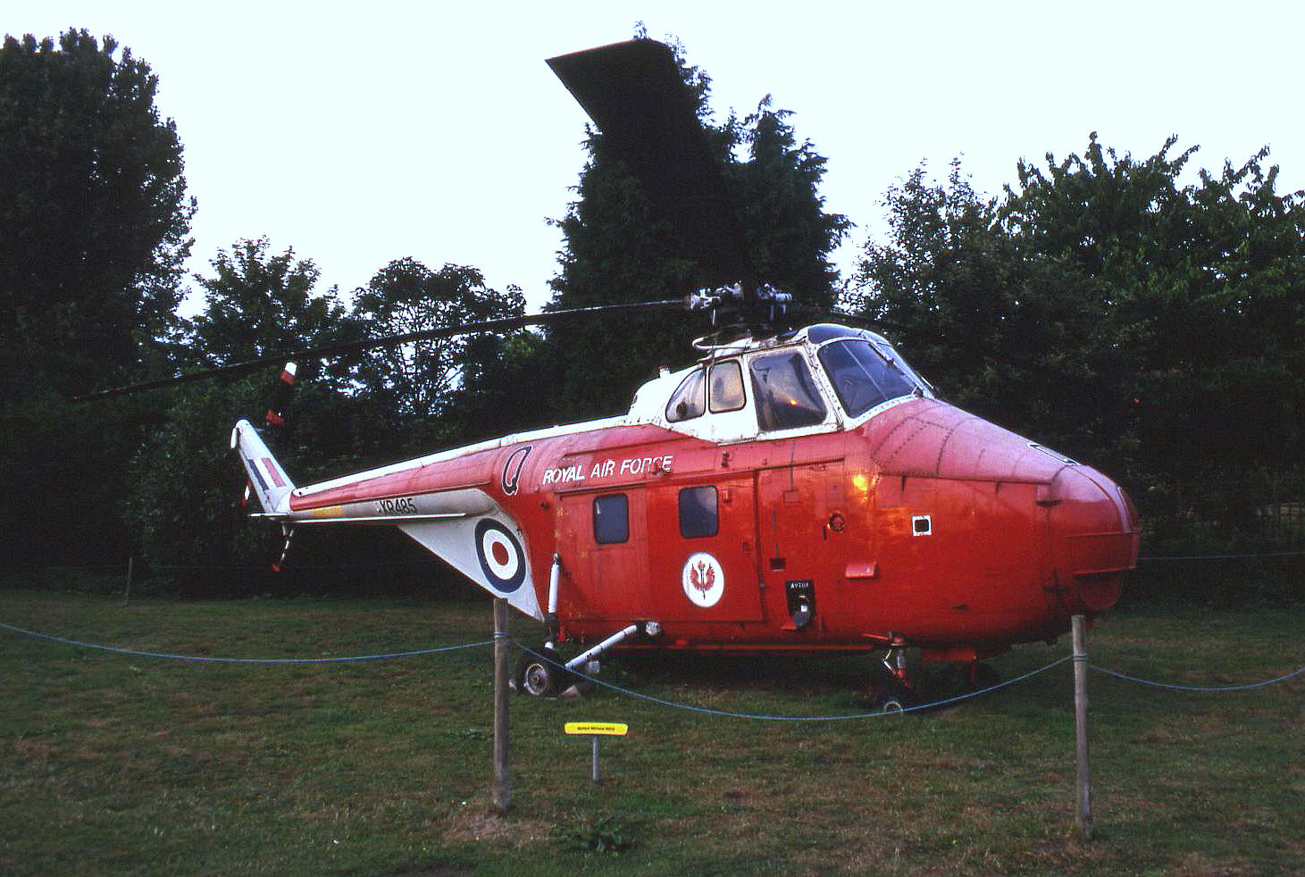 A turbine powered Westland S.55